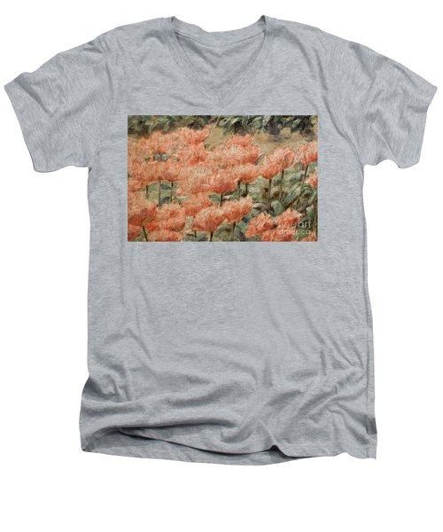 de Young Museum San Francisco Men's V-Neck T-Shirt
