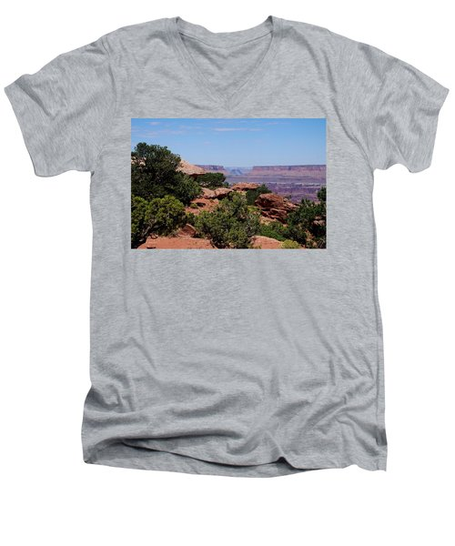 By The Canyon Men's V-Neck T-Shirt