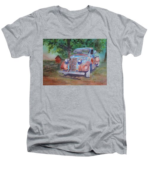 '38 Chevy Men's V-Neck T-Shirt