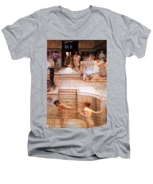 A Favorite Custom Men's V-Neck T-Shirt