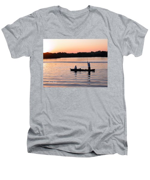 A Fisherman's Story Men's V-Neck T-Shirt