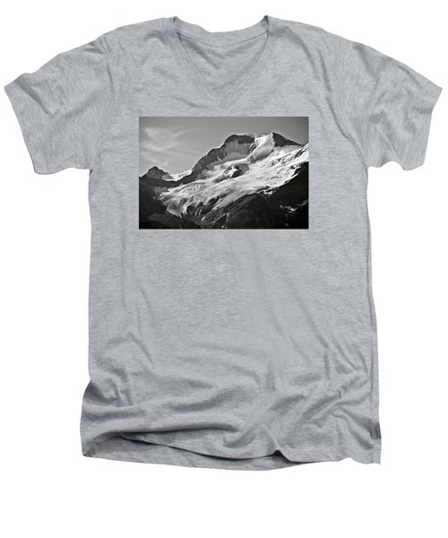 A Glacier In Jasper National Park Men's V-Neck T-Shirt