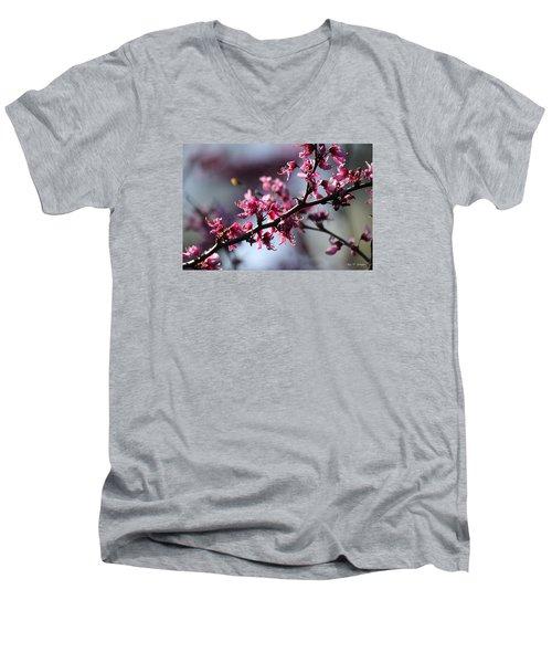 A Hint Of Spring  Men's V-Neck T-Shirt