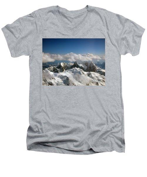 Above Mckinley Men's V-Neck T-Shirt