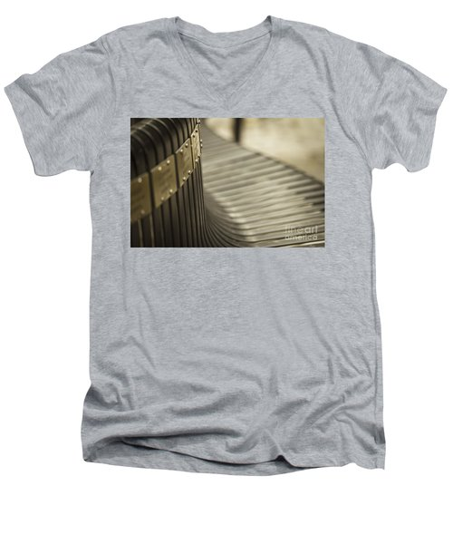 Abstract Men's V-Neck T-Shirt by Clare Bambers