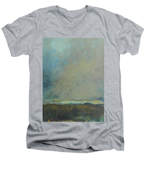 Abstract Landscape - Horizon Men's V-Neck T-Shirt