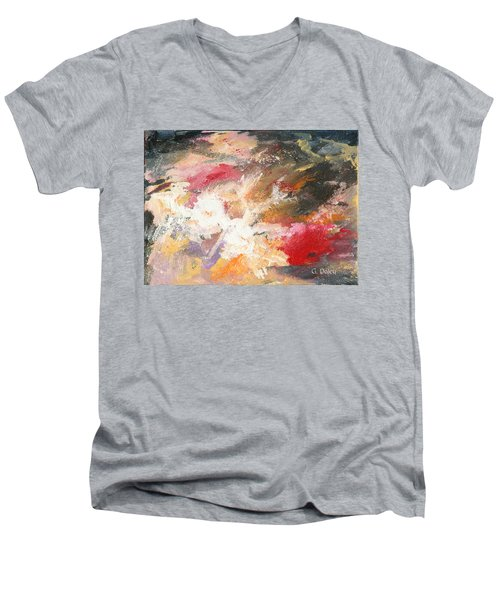 Abstract No 2 Men's V-Neck T-Shirt