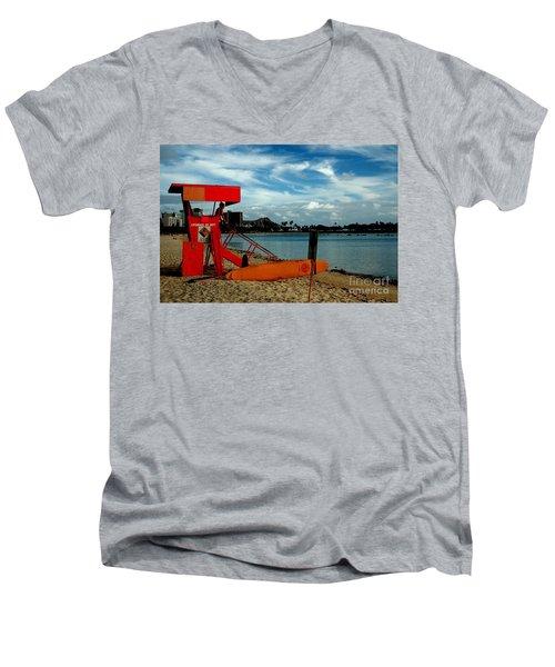 Ala Moana Men's V-Neck T-Shirt
