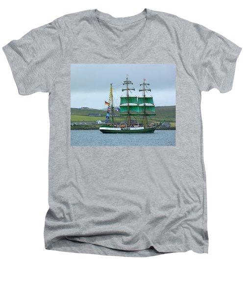 Men's V-Neck T-Shirt featuring the photograph Alexander Von Humboldt by Lynn Bolt