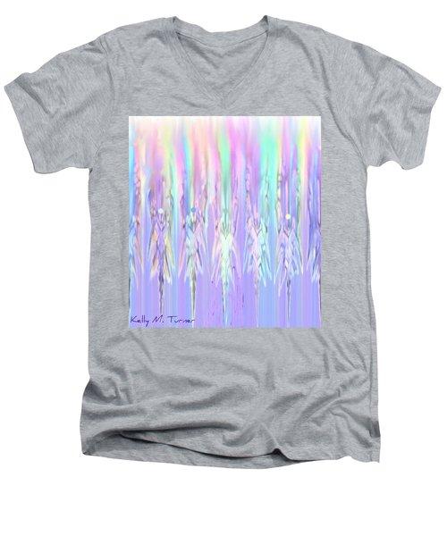 Angels Dancing Men's V-Neck T-Shirt