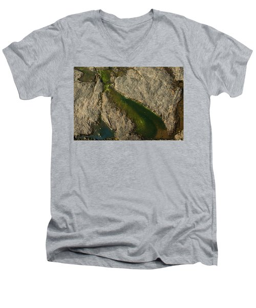 Another World Iv Men's V-Neck T-Shirt