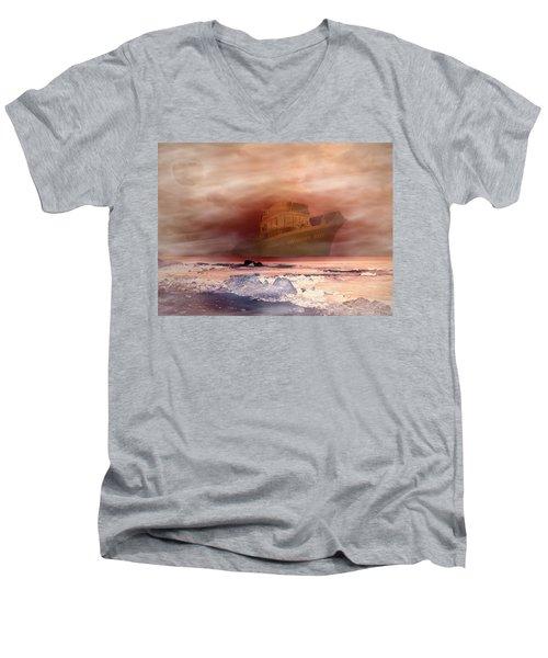 Anthony Boy's Magical Voyage Men's V-Neck T-Shirt