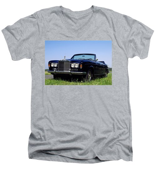 Antique Rolls Royce Men's V-Neck T-Shirt