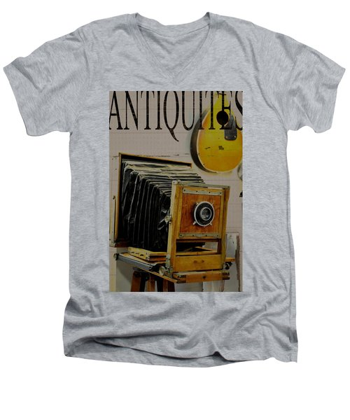 Antiquites Men's V-Neck T-Shirt