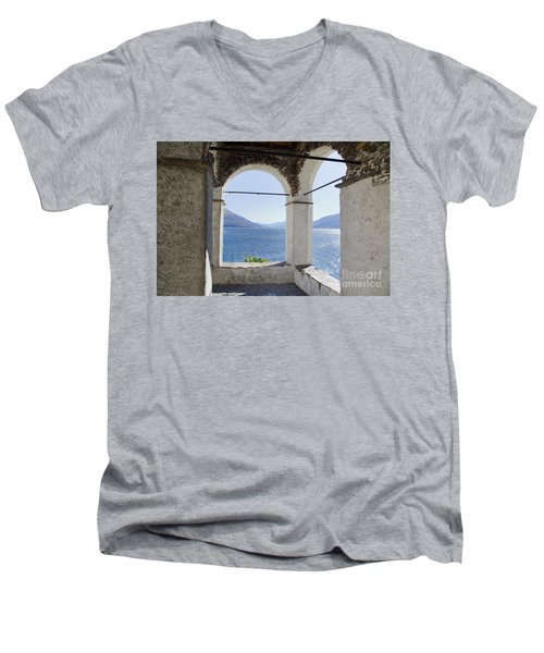 Arch And Lake Men's V-Neck T-Shirt