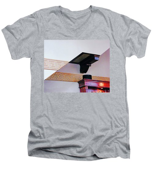 Men's V-Neck T-Shirt featuring the photograph Architecture  by Lizi Beard-Ward
