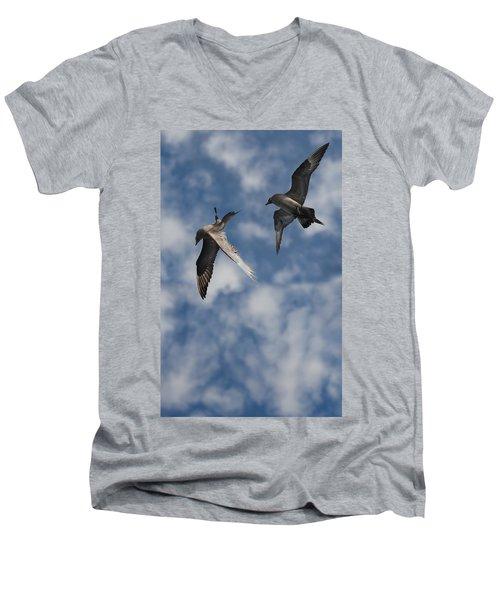 Arctic Skuas Men's V-Neck T-Shirt