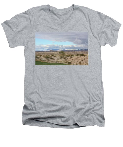 Arizona Desert View Men's V-Neck T-Shirt
