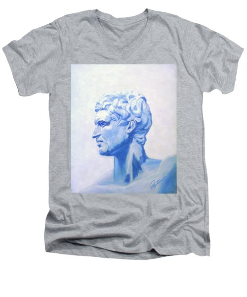 Athenian King Men's V-Neck T-Shirt