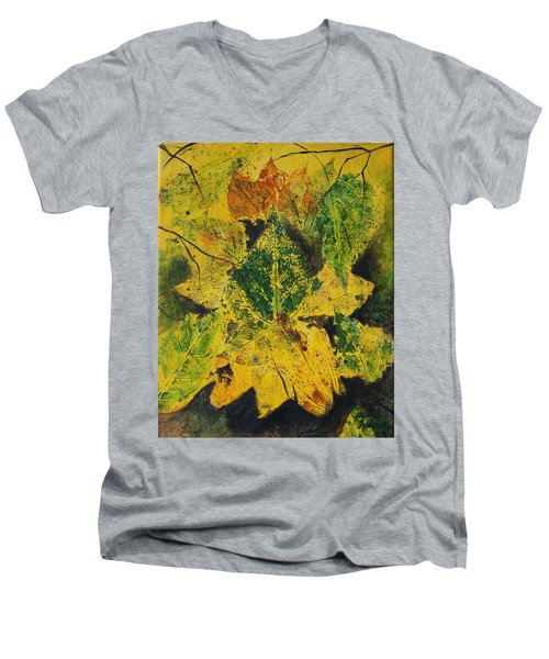 Autumn Boquet Men's V-Neck T-Shirt
