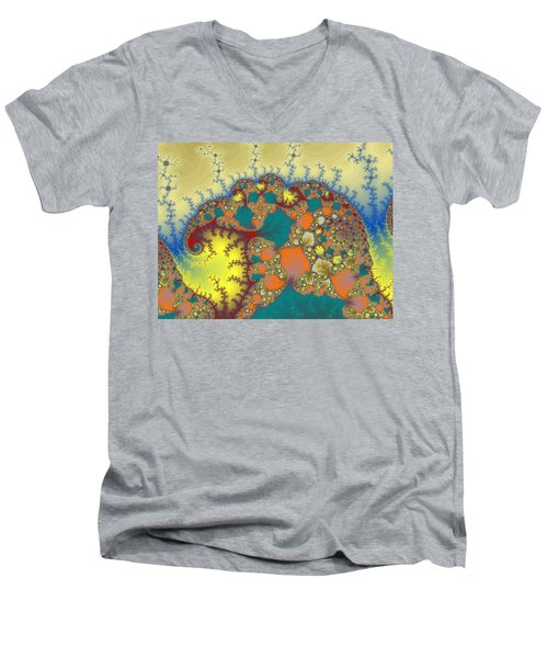 Baby Elephant Men's V-Neck T-Shirt