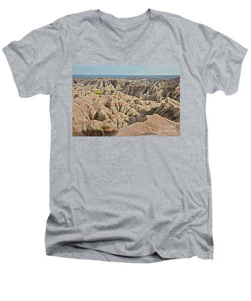 Badlands  Men's V-Neck T-Shirt