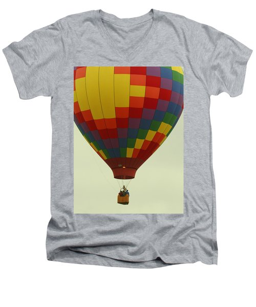 Balloon Ride Men's V-Neck T-Shirt
