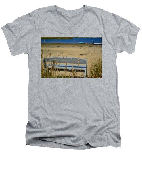 Bench On The Beach Men's V-Neck T-Shirt