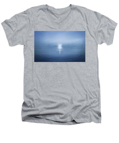 Big Blue Men's V-Neck T-Shirt