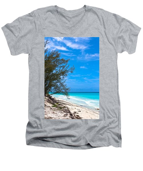 Bimini Beach Men's V-Neck T-Shirt