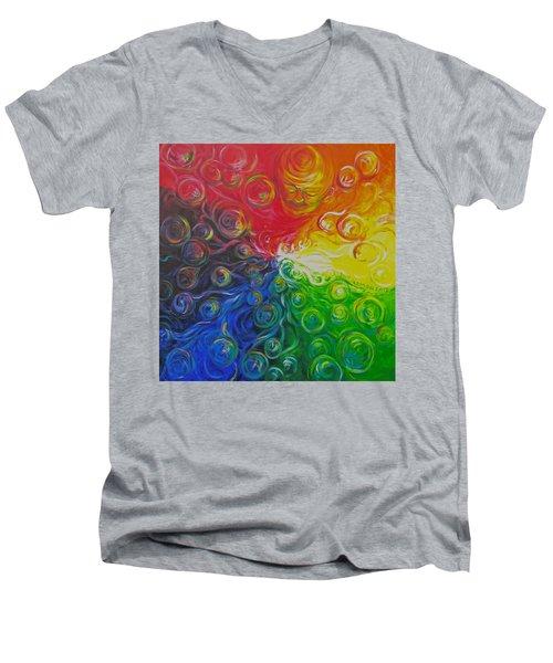 Birth Of Color Men's V-Neck T-Shirt