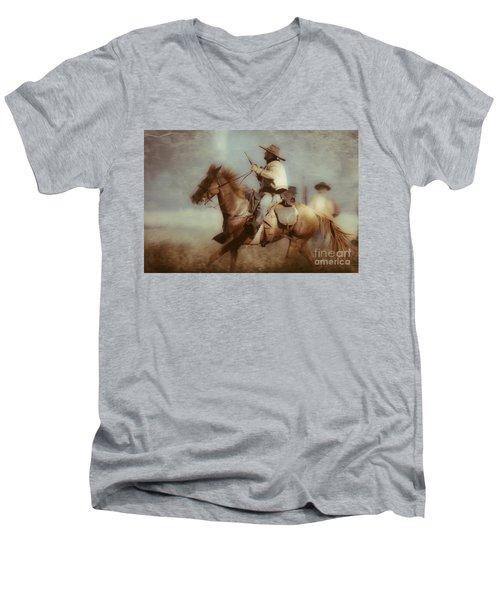 Blazing  Men's V-Neck T-Shirt