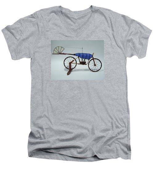 Blue Caravan Men's V-Neck T-Shirt