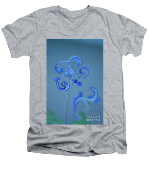 Blue Heaven Men's V-Neck T-Shirt