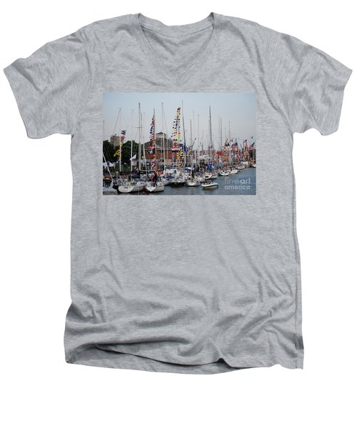 Boat Night Men's V-Neck T-Shirt