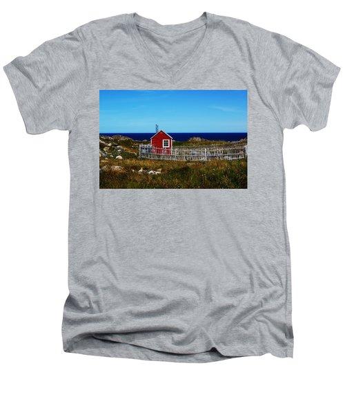 Bonavista Men's V-Neck T-Shirt