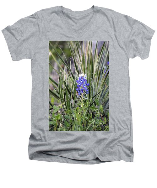 Bonnet Spines Men's V-Neck T-Shirt