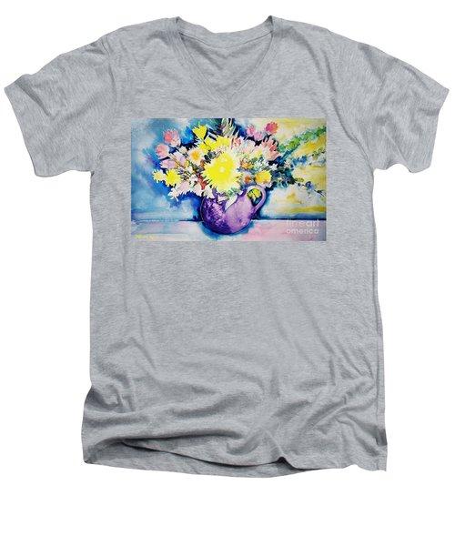 Bouquet Men's V-Neck T-Shirt