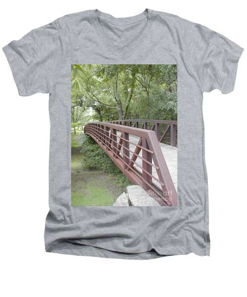 Bridge To Beyond Men's V-Neck T-Shirt