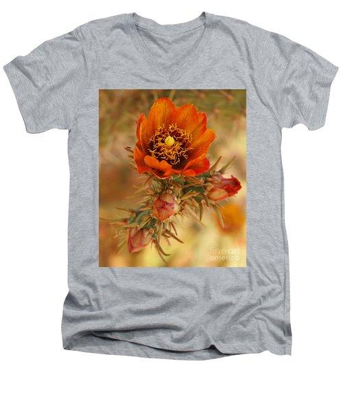 Buckhorn Cholla 2 Men's V-Neck T-Shirt