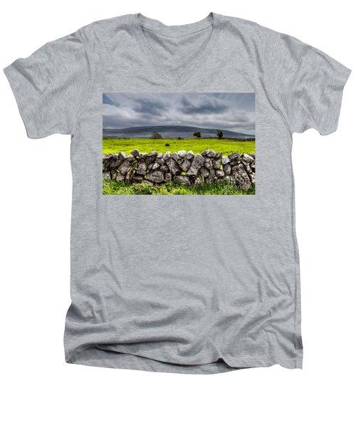Burren Stones Men's V-Neck T-Shirt