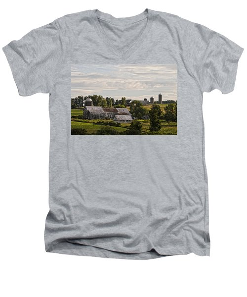 Cadis Farm Men's V-Neck T-Shirt