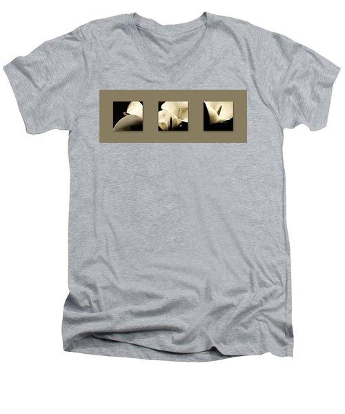 Calla Lilies Art Men's V-Neck T-Shirt