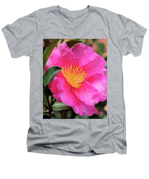 Camillia Men's V-Neck T-Shirt