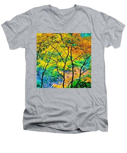Canopy Of Life Men's V-Neck T-Shirt