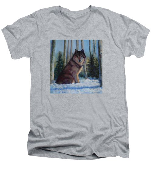 Captured By The Light Men's V-Neck T-Shirt by Billie Colson