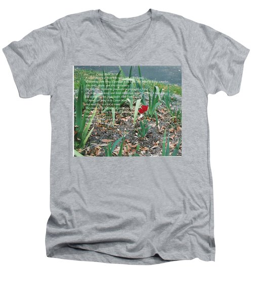 Career Mom Men's V-Neck T-Shirt