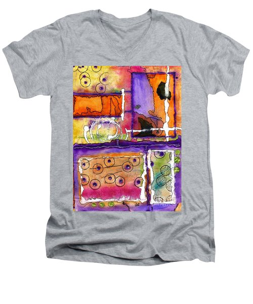 Cheery Thoughts - Warm Wishes Men's V-Neck T-Shirt