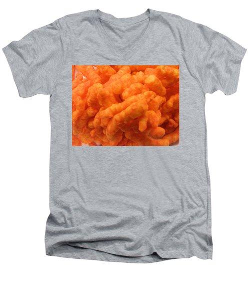 Cheesy Poofs Men's V-Neck T-Shirt
