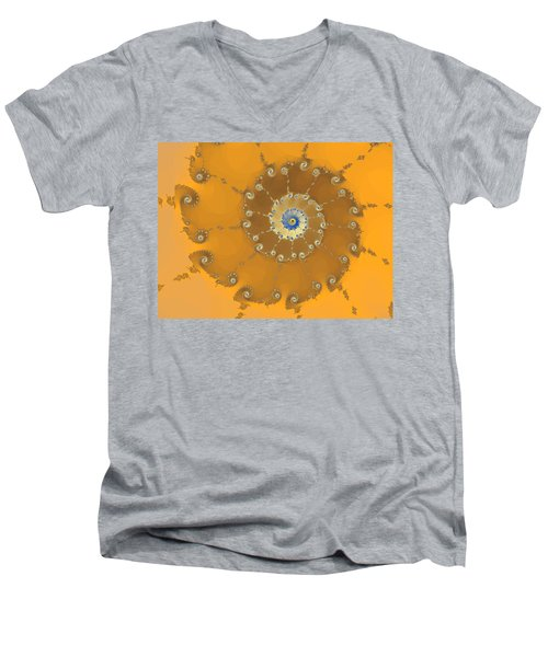 Classic Nautilus Men's V-Neck T-Shirt